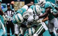 I Dolphins soffrono ma battono i Jets per 27-25