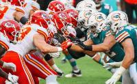Dolphins sfortunati con vari infortuni cedono ai Chiefs