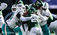 Dolphins vincenti in trasferta ma a fatica contro i derelitti Jets