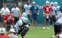 Le prime foto del training camp di Miami Dolphins