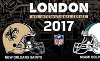 Info 2017 Miami Dolphins - New Orleans Saints a Londra UK