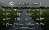Il calendario 2015 dei Miami Dolphins