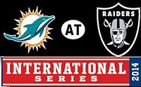 2014 Raiders/Dolphins Londra UK