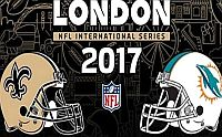 2017 Dolphins/NO Saints Londra UK